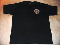Pipe Band logo crest on shirt