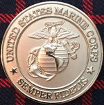 Camp Horno Challenge Coin USMG